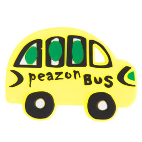 Прорезыватель Автобус, желтый оптом (код товара: 51608): купить в Berni