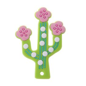 Прорезыватель Цветущий кактус, зелёный (код товара: 51602): купить в Berni