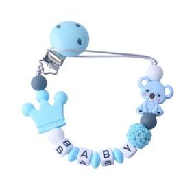 Прорезыватель-держатель для пустышки Коала, голубой оптом (код товара: 51617): купить в Berni