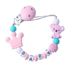 Прорезыватель-держатель для пустышки Коала, розовый (код товара: 51619): купить в Berni