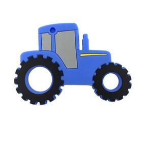 Прорезыватель Трактор, синий  оптом (код товара: 51609): купить в Berni