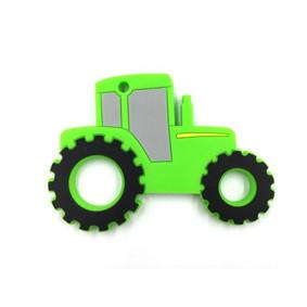 Прорезыватель Трактор, зелёный оптом (код товара: 51610): купить в Berni