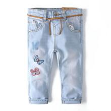 Джинсы для девочки Бабочки (код товара: 51778)