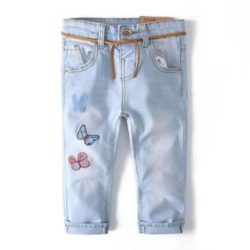 Джинсы для девочки Бабочки (код товара: 51778): купить в Berni