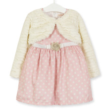 Комплект для девочки 2 в 1 Горошек, розовый (код товара: 51766)