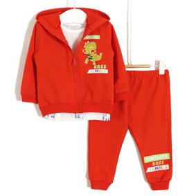 Костюм дитячий 3 в 1 Fantastic, помаранчевий (код товару: 51703): купити в Berni
