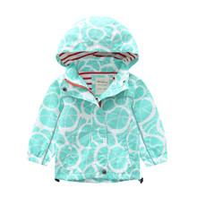 Куртка детская Мятные грейпфруты (код товара: 51737)