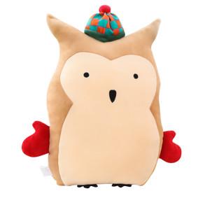 Мягкая игрушка - подушка Филин в шапочке, 40 см (код товара: 51761): купить в Berni