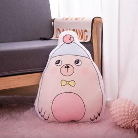 Мягкая игрушка - подушка Стеснительный мишка, 50см (код товара: 51743): купить в Berni