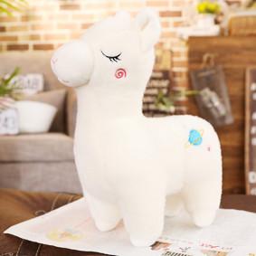 Мягкая игрушка Белая лама, 40см (код товара: 51760): купить в Berni