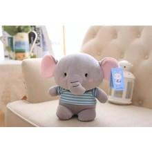 Мягкая игрушка Плюшевый слоник, 25см (код товара: 51746)