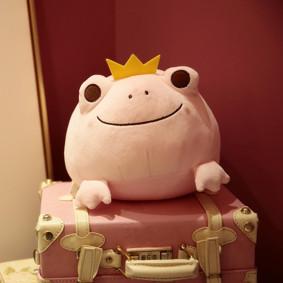 Мягкая игрушка Розовая лягушка, 42см  (код товара: 51757): купить в Berni