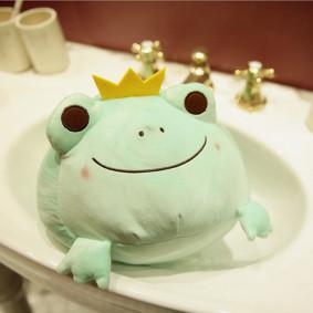 Мягкая игрушка Зелёная лягушка, 35см (код товара: 51755): купить в Berni