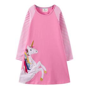 Платье для девочки Большой единорог (код товара: 51728): купить в Berni