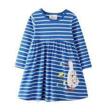Платье для девочки Цветочная гусыня (код товара: 51720)