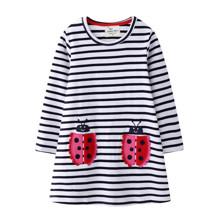 Платье для девочки Пятнистые подружки (код товара: 51711)