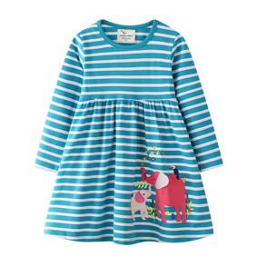 Платье для девочки Слоники (код товара: 51719): купить в Berni