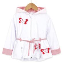 Ветровка для девочки Красные бабочки (код товара: 51765)