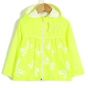 Ветровка для девочки Яркая бабочка, желтый (код товара: 51707): купить в Berni