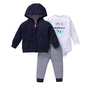 Комплект детский 3 в 1 Hanging with mommy оптом (код товара: 51812): купить в Berni