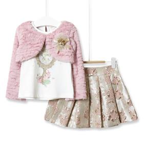 Комплект для девочки 3 в 1 Have a good day, розовый  оптом (код товара: 51803): купить в Berni