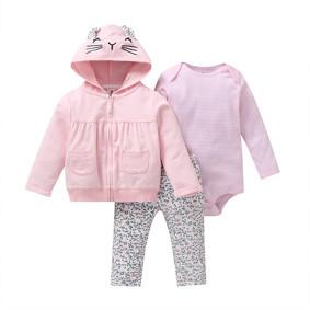 Комплект для девочки 3 в 1 Маленькая кошечка оптом (код товара: 51820): купить в Berni