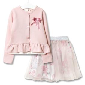 Комплект для девочки 3 в 1 Модница, розовый оптом (код товара: 51827): купить в Berni