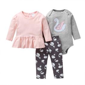 Комплект для девочки 3 в 1 Принцесса-лебедь оптом (код товара: 51819): купить в Berni