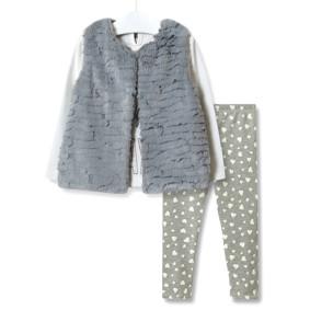 Комплект для девочки 3 в 1 Think happy days оптом (код товара: 51875): купить в Berni