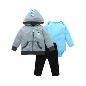 Комплект для мальчика 3 в 1 Маленький динозаврик (код товара: 51807): купить в Berni