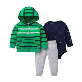 Комплект для мальчика 3 в 1 Полосатик (код товара: 51811): купить в Berni