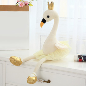 Мягкая игрушка - Фламинго-балерина, белый, 60см оптом (код товара: 51853): купить в Berni