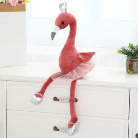 Мягкая игрушка - Фламинго-балерина, красный, 60см оптом (код товара: 51854): купить в Berni