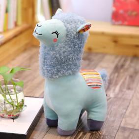 Мягкая игрушка - Голубая альпака, 35см оптом (код товара: 51849): купить в Berni