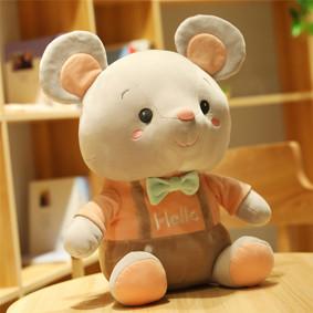 Мягкая игрушка - Мышка Hello, оранжевый, 25см оптом (код товара: 51857): купить в Berni