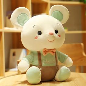 Мягкая игрушка - Мышка Hello, зелёный, 25см оптом (код товара: 51858): купить в Berni