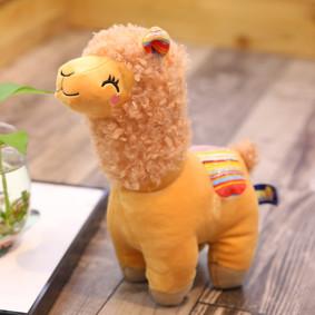 Мягкая игрушка - Оранжевая альпака, 35см оптом (код товара: 51848): купить в Berni