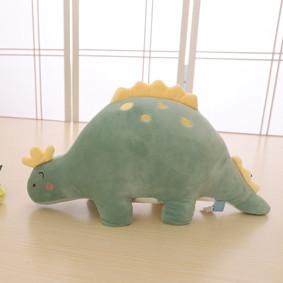 Мягкая игрушка - подушка Плюшевый динозавр, зелёный, 45см (код товара: 51867): купить в Berni