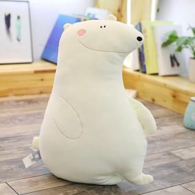 Мягкая игрушка - подушка Полярный медвежонок, 50см (код товара: 51852): купить в Berni