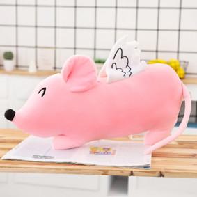 Мягкая игрушка - подушка Розовая мышка, 50см (код товара: 51837): купить в Berni