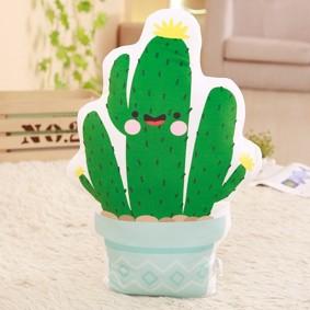 Мягкая игрушка - подушка Весёлый кактус, 50см (код товара: 51845): купить в Berni