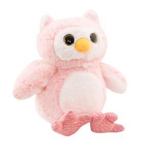 Мягкая игрушка - Розовый совушек, 30см оптом (код товара: 51862): купить в Berni