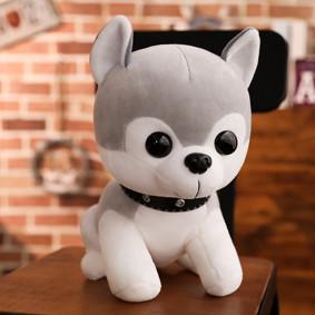 Мягкая игрушка - Серая собачка, 30см оптом (код товара: 51838): купить в Berni