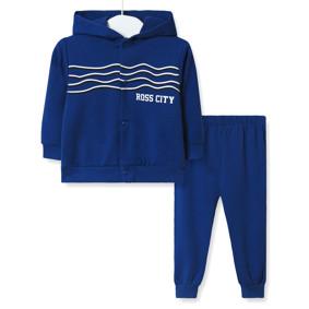 Костюм детский 3 в 1 Ross city, синий (код товара: 51904): купить в Berni