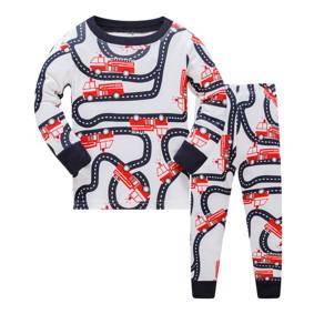 Пижама Пожарные машины оптом (код товара: 51910): купить в Berni