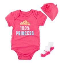 Комплект для девочки 3 в 1 Маленькая принцесса (код товара: 52099)