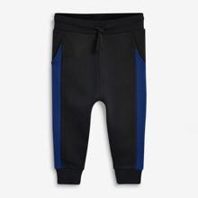 Штаны детские утеплённые Синяя полоса (код товара: 52105)