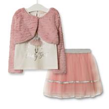 Комплект для девочки 3 в 1 Pretty girl, розовый (код товара: 52290)