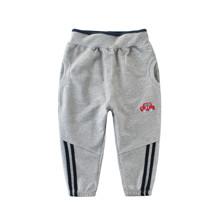 Штаны для мальчика Красная машинка, серый (код товара: 52258)