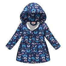 Куртка для девочки демисезонная Бабочка (код товара: 52314)